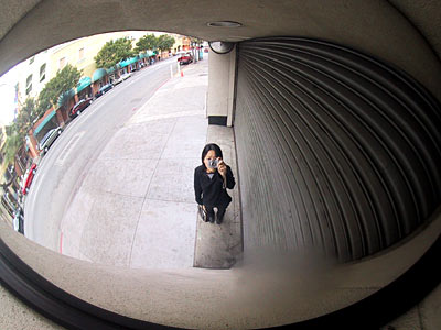 fake fish-eye