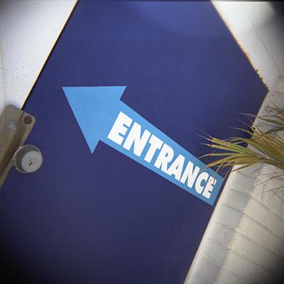 entrance #1