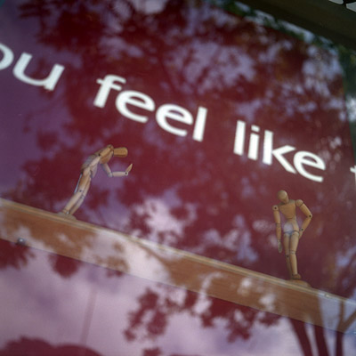 do you feel like ...
