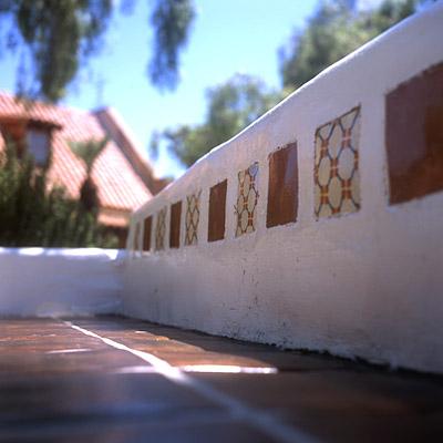 tiled bench #2