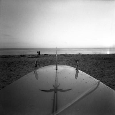 pinhole at the beach #1