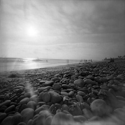 pinhole at the beach #2