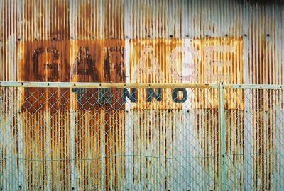 rusty wall #2