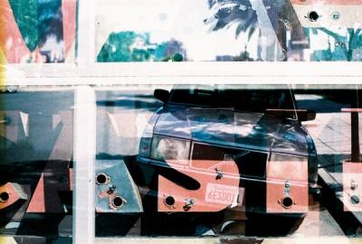 sign + car