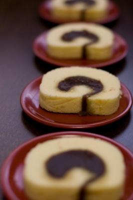 japanese sweet - rokuji-ya tart