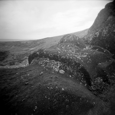 the moai on ground