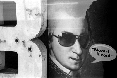 mozart is cool.