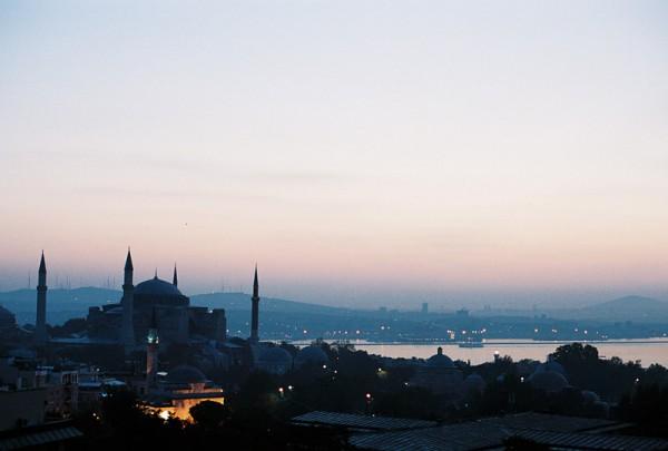 mosque + dawn