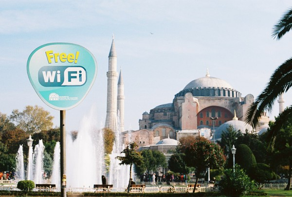 mosque + free wifi