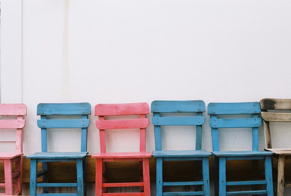 Chairs in Bozcaada #1