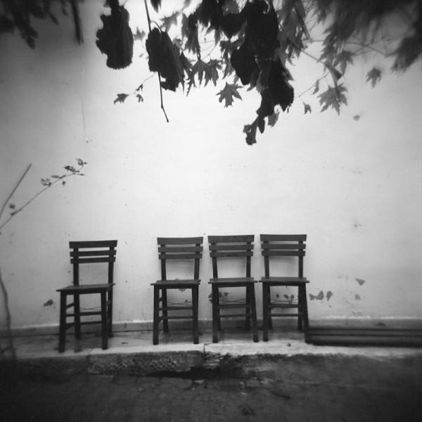 Chairs in Bozcaada #2