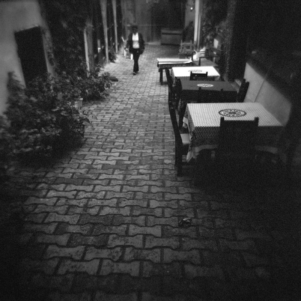 tables at an alley #2