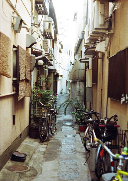 Alley and Bikes