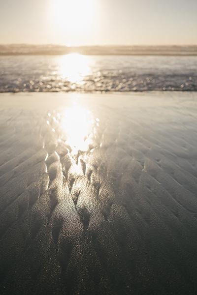 Pattern on the Beach